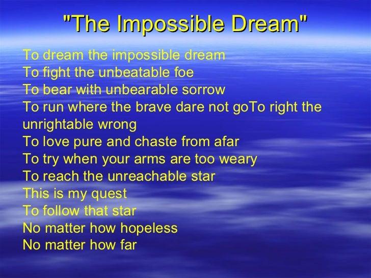 Future Folk - Impossible Dream