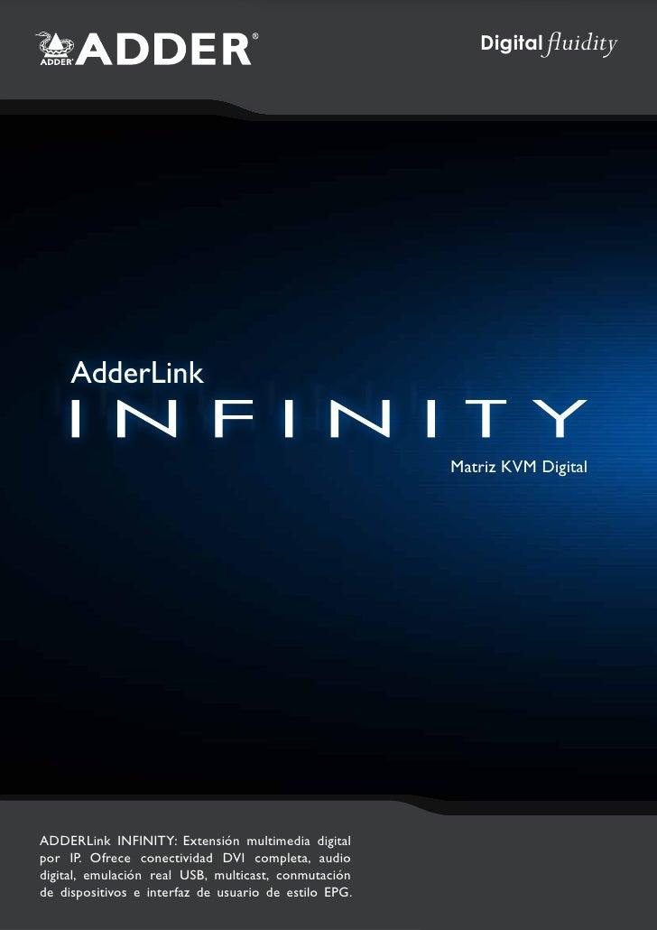 Digital fluidity                                                       Matriz KVM DigitalADDERLink INFINITY: Extensión mul...