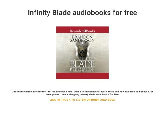 Science fiction and fantasy audiobook infinity blade awakening by bra….