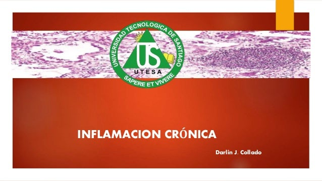 INFLAMACION CRÓNICA Darlin J. Collado