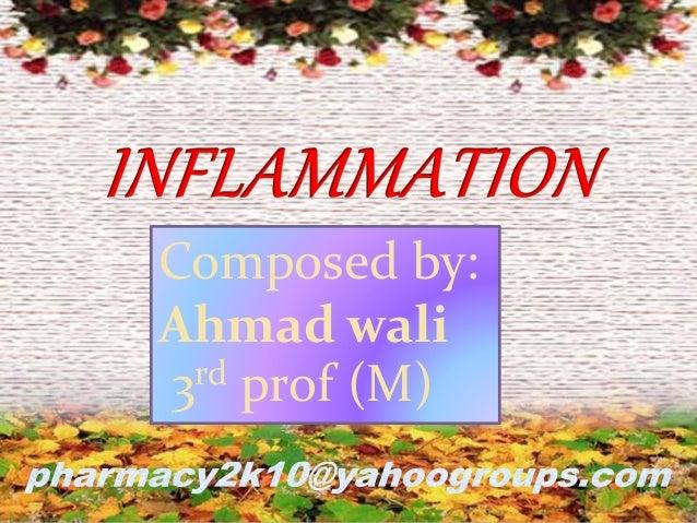 Composed by: Ahmad wali 3rd prof (M)