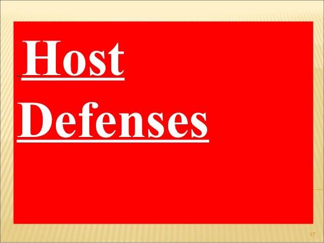 HostDefenses           17