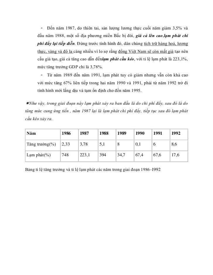 - Đến năm 1987, do thiên tai, sản lượng lương thực cuối năm giảm 3,5% và      đầu năm 1988, một số địa phương miền Bắc bị ...