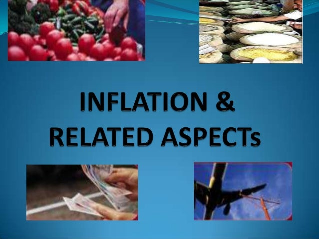 Inflation is the rate at which prices increase annuallyPrices go up due to two factors i.e. cost-push factorsand Demand-pu...