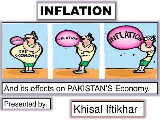 INFLATION  And its effects on PAKISTAN'S Economy. Presented by:  Khisal Iftikhar