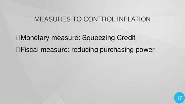 18 Monetary Measures