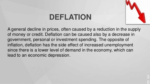 Deflation tends to occur when the economy's capacity, as indicated by the position of the AS curve, grows at a faster rate...