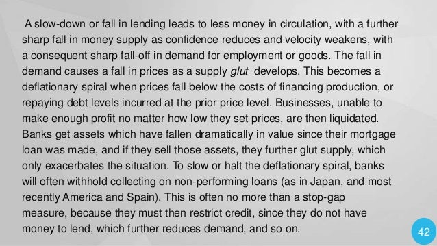 Measures to Control deflatio