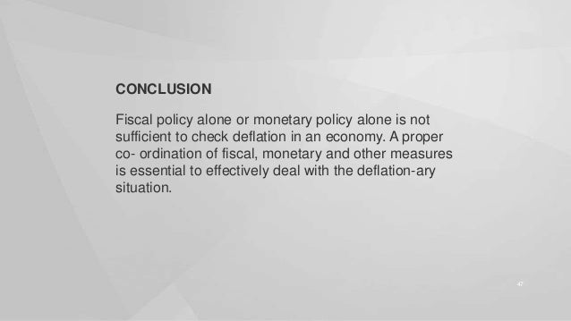 Inflation and Deflation- Indian context