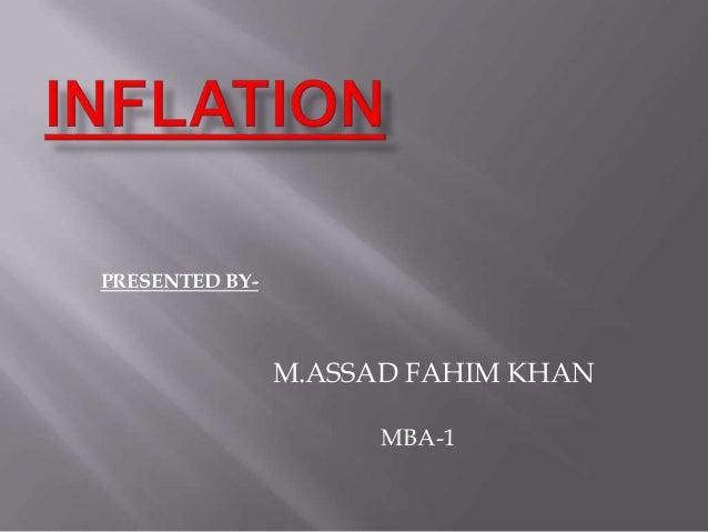 PRESENTED BY-M.ASSAD FAHIM KHANMBA-1