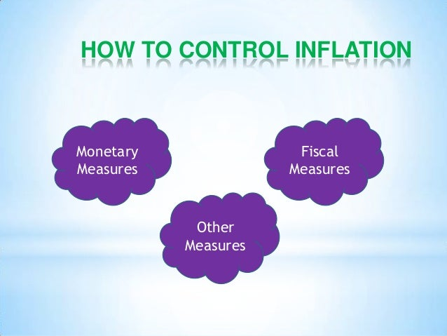 the issue of inflation control as an Does not reflect inflation rather, it is an increase in the price of that single commodity but if the average prices of all goods in the economy increase each year by, say 5 percent then we say the inflation rate is 5 percent.