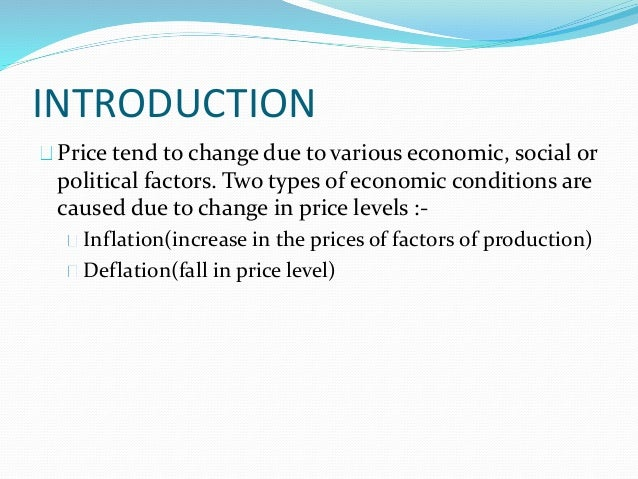 inflation accounting Inflation accounting is a financial reporting procedure which records the  consequences of inflation on the financial statements that a company.