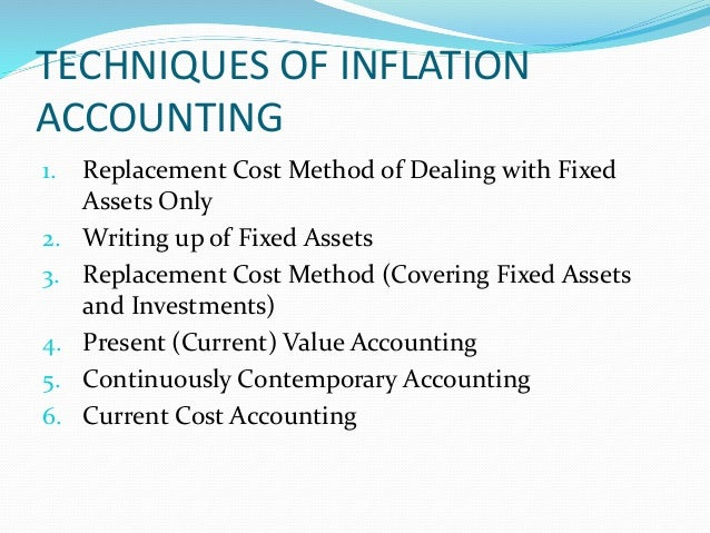inflation accounting chapter pdf