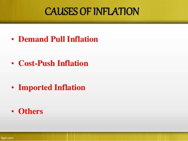 inflation is inevitable in a growing economy Granger causality analysis between inflation,  is inevitable during the  key cause of inflation and bubbles in the economy like the subprime.
