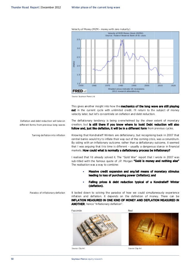 Inflationary deflation   creating a new bubble in money