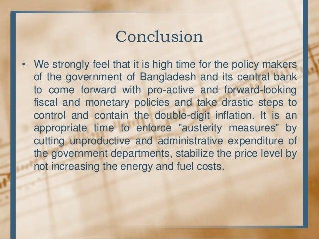 Inflation & Bangladesh Economy