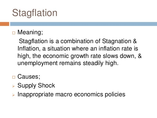 The Long Term Economic Benefits Of >> Inflation,deflation, stagflation , reflation [jagath]