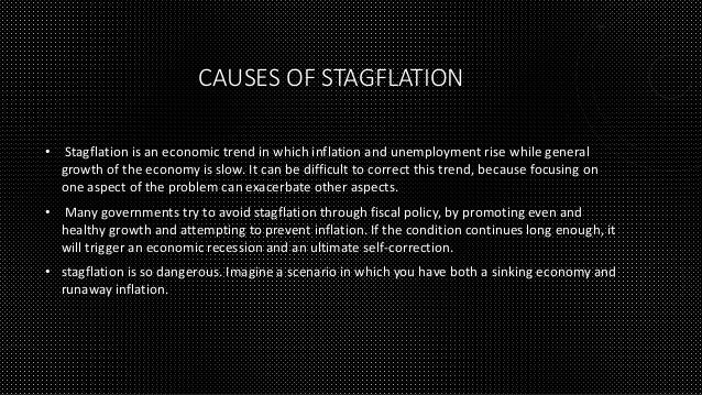causes of inflation and deflation What are the main causes of inflation inflation is a sustained rise in the general price level inflation can come from both the demand and the supply-side of.