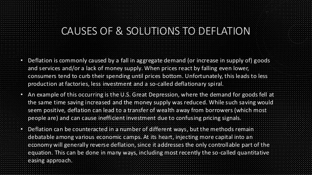 inflation causes and solutions Causes of inflation  in the current scenario, they are supposed to get faster solutions to the problems of coping with soaring prices (for example).