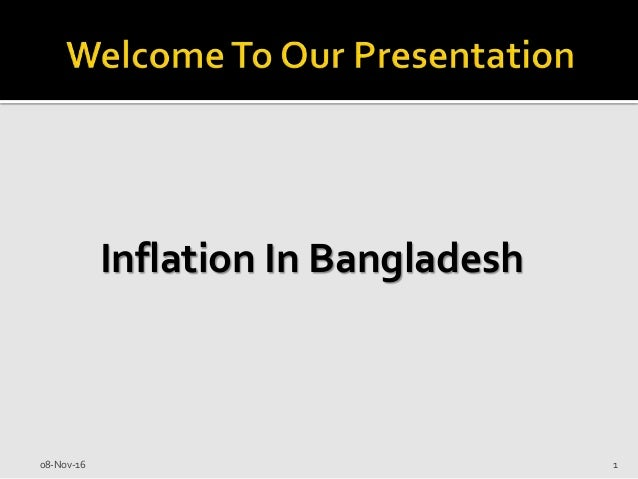 inflation in bangladesh and its reason and Bangladesh should also be able to negotiate with other countries on how much they could pollute (koudstaa, werners and ahsan) when we compare the amount of damage made in bangladesh and other countries, bangladesh is the most to be affected by it as we can see in table 1, burma ranks.