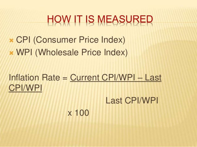 relationship between cpi and wpi The relationship between exchange rate and inflation in pakistan  relative share of imports in wpi and cpi  there is no relationship between inflation and.