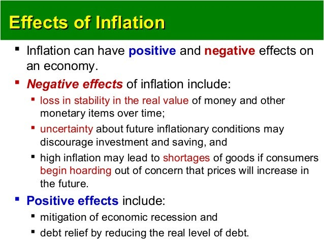 inflation impact on economy Overall, a high and volatile rate of inflation is widely considered to be damaging for an economy that trades in international markets in your analysis focus on the impact on uncertainty / business and consumer confidence.