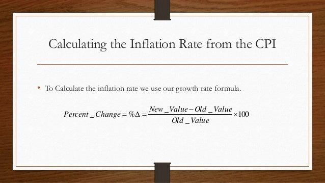 Inflation measuring