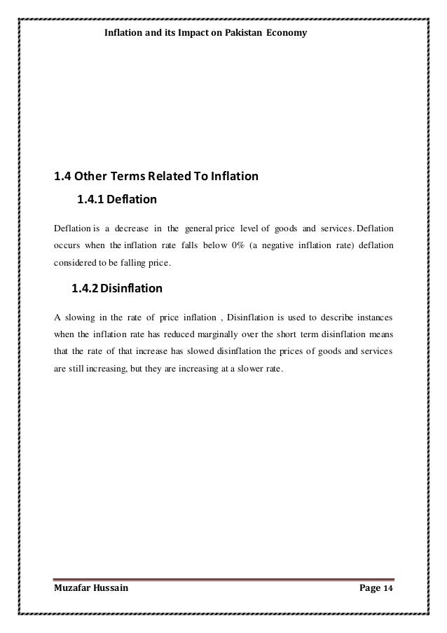 inflation and its causes pakistan In this lesson we will take a look at inflation and its importance we will discuss the types and causes of inflation, as well as look at the.