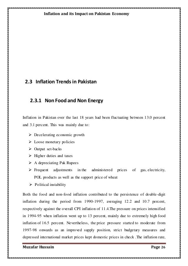 inflation and its impact on common The exchange rate or the value of money in a particular country determines all transactions pertaining to that countryinflation and its effects on money:inflation and its effects on money are plenty.