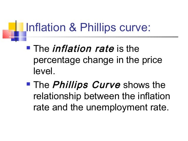 consequences of unemployment and inflation relationship