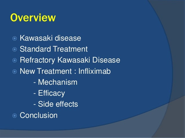 Treatment Of Refractory Kawasaki Disease