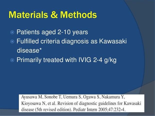 Treatment For Refractory Kawasaki Disease
