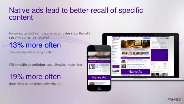 Yahoo In Flow research - the real effect of native and content market…