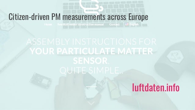 InfluencAir - Citizens measuring air quality Slide 3
