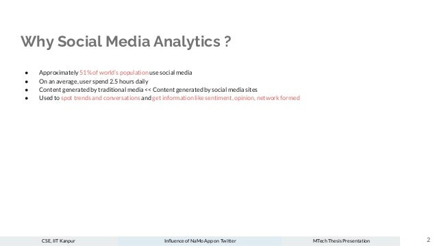 Influence of NaMo App on Twitter Slide 2
