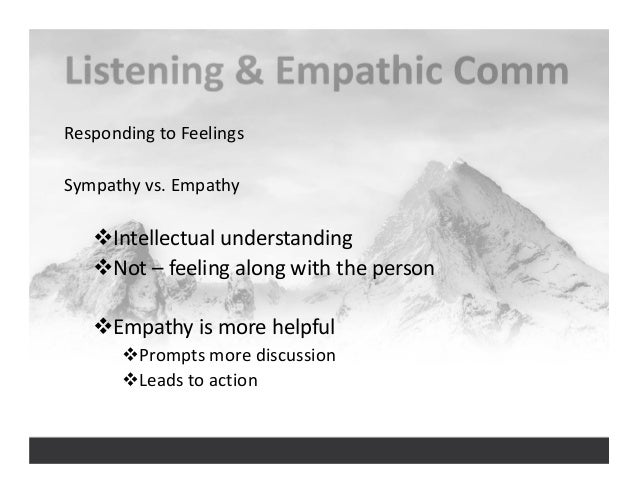 analyzing the origin of empathy Empathy is the experience of understanding another person's thoughts, feelings, and condition from their point of view, rather than from your own you try to imagine yourself in their place in .