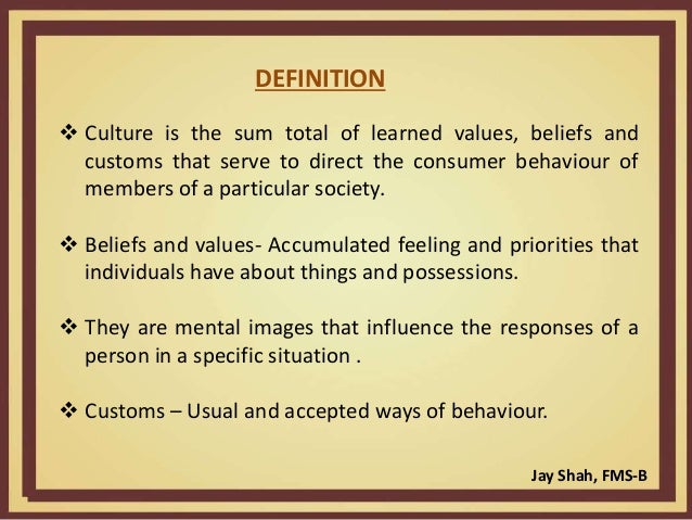 influence of culture on consumer behaviour Free essay: cultural influences of consumer behavior understanding consumer buying behavior entails marketing, relationships, and consumer behavior consumer.