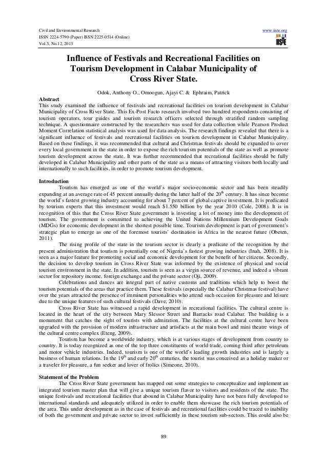 Civil and Environmental Research ISSN 2224-5790 (Paper) ISSN 2225-0514 (Online) Vol.3, No.12, 2013  www.iiste.org  Influen...
