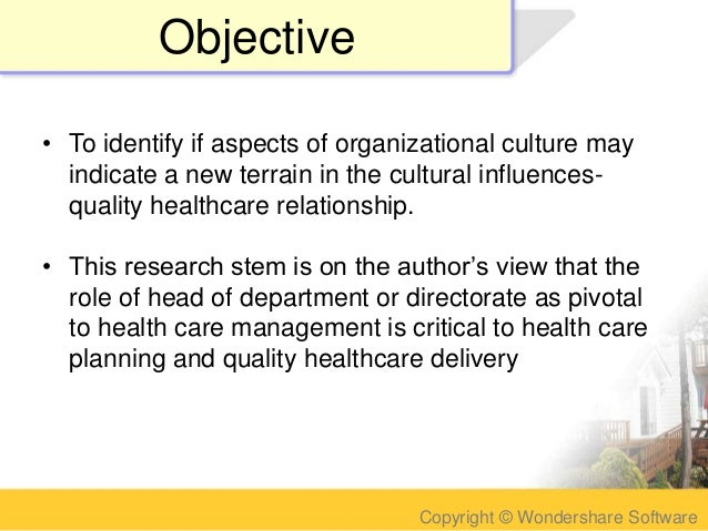 impact of culture on health Policy guide ref impact the research excellence framework was the first exercise to assess the impact of research outside of academia impact was defined as 'an effect on, change or benefit to the economy, society, culture, public policy or services, health, the environment or quality of life, beyond academia.