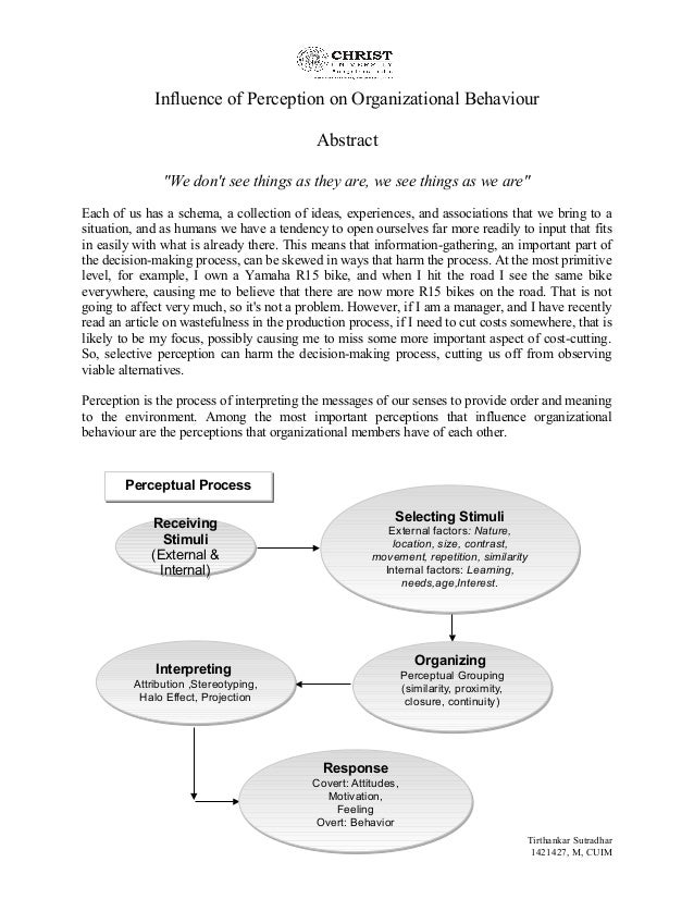 five importance of organizational behaviour to the manager The science of management is important to organizational behavior because it led to researchers viewing companies as an entire management and organizational.