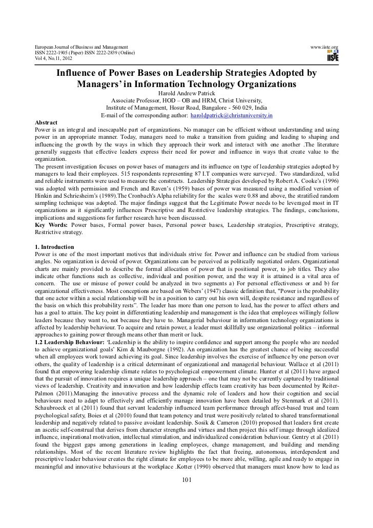 European Journal of Business and Management                                                                         www.ii...