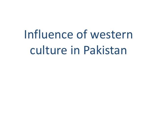 impact of western culture on pakistani youth pdf