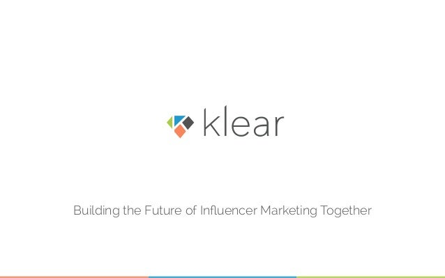 Building the Future of Influencer Marketing Together