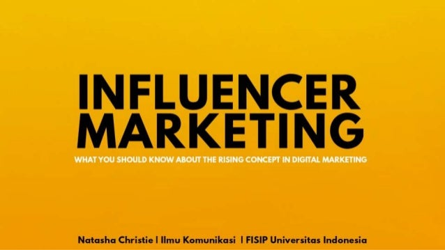 Influencer Marketing: The Rising Concept