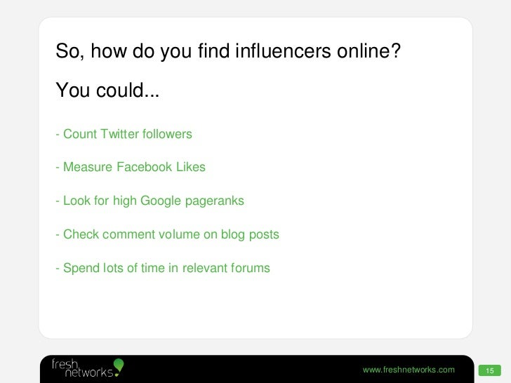 how to find facebook influencers