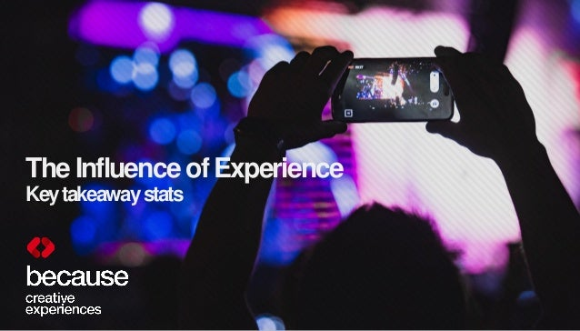 The Influence of Experience Keytakeawaystats