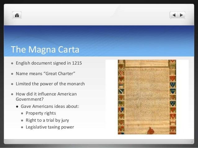 Magna Carta Property Rights