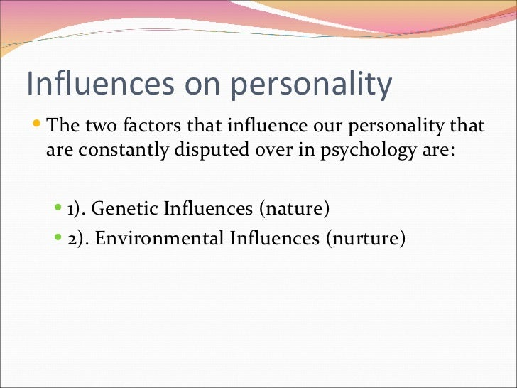 essay about influence person