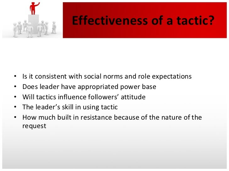 Eleven Influence Tactics and How To Excel At Each