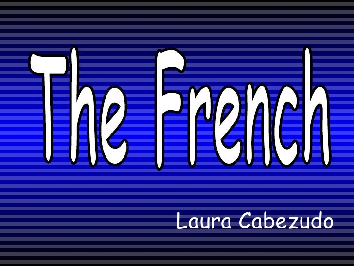Laura Cabezudo The French